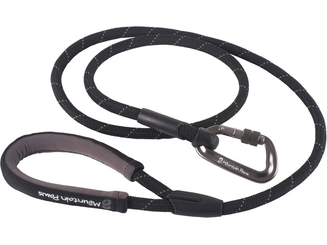 Mountain Paws Rope Lead Collare per animali nero